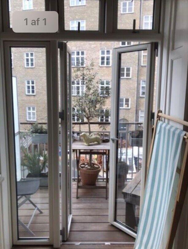 Dejligt værelse med altan