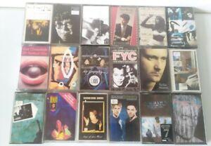 Cassette Tape Bundle Job lot 80s 90s Pop indie alternative X 18 collection #3