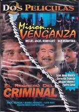 EL REGRESO DEL CRIMINAL Y MISION VENGANZA