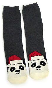 Socken Schlussverkauf Damen Festliche Panda & Party-hut-weihnachtssocken Uk 08.04 Eur 37-42 Usa 6-10 Senility VerzöGern