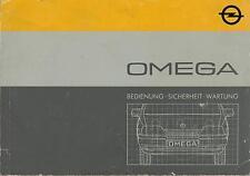 OPEL   OMEGA    A    Betriebsanleitung    1986    Bordbuch   Handbuch      BA