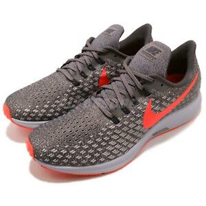 official photos eba34 d81ae Details about Nike Air Zoom Pegasus 35 Thunder Grey Bright Crimson Men  Running Shoe 942851-006