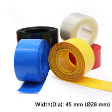 110mm Transparent Clear PVC Heat Shrink Tube For RC LiPO NiMH NiCd Battery