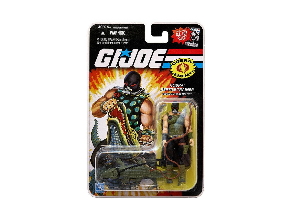 G.I. Joe   Croc Master    25th Anniversary   Comic Series   2008   Mint