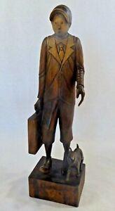 Tintin & Milou Hergé Sculptés À La Main Magnique Piece