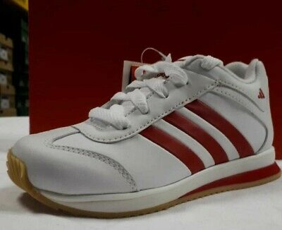 kids boys adidas pop snarl trainers shoes white red | eBay