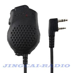 Formato-Mini-Palmare-Spalla-Microfono-Altoparlante-Dual-PTT-per-BaoFeng-UV-82