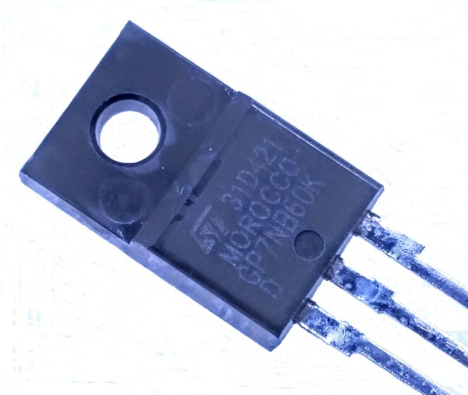 3 ou 10 Lot de 1 GP7NB60KD-N-Canal de court-circuit nominale jarretelles