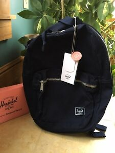 ebef0c9d4c3 Image is loading Herschel-Supply-Co-Lawson-Cotton-Twill-Backpack-10179-