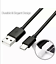 miniature 2 - 100x OEM Type C Fast Charge Cable Cord Charging Quick USB-C Wholesale BLACK