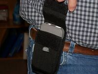 For Iphone 4 And 4s With Otter Box. Belt Loop Cell Phone Nylon Holster No Clips