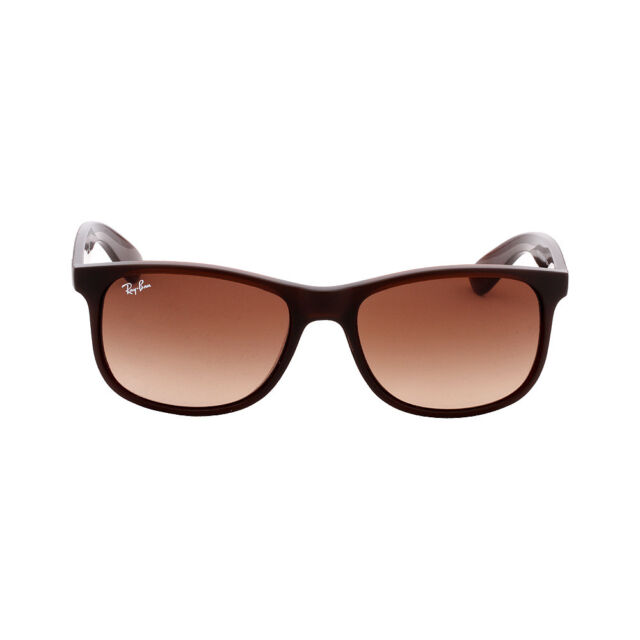 1ff43f1a40c Ray-Ban Andy Nylon Frame Brown Gradient Lens Unisex Sunglasses RB4202