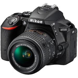 "Nikon D5500 18-55mm 24.2mp 3.2"" DSLR Digital Camera Brand New Jeptall D10"