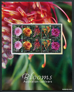 2003-Blooms-Cultivars-Post-Office-Pack-Australia-Mint-Stamps