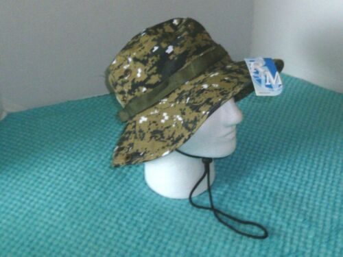 Garden #RM HT319 Hunting Fishing Military Jungle Style Camo Hat -Tactical
