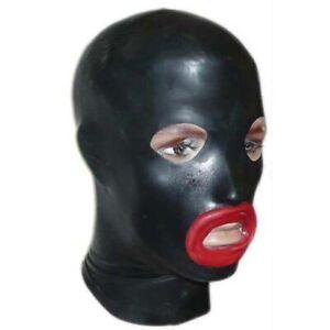 Latex-Mask-with-Lips-Rubber-Hood-Fetish-Shiny-Clothing