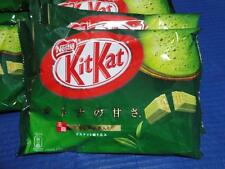 Nestle KitKat Kit Kat Japan Green Tea Matcha Macha Maccha Chocolate 12 mini bars