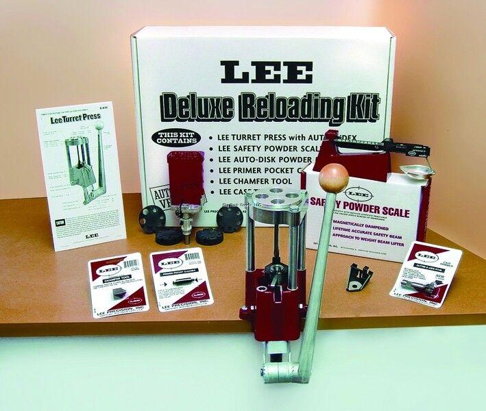 Neu  Lee 4 Loch Turret Presse mit mit mit Auto Index Value Kit 90928 08714c