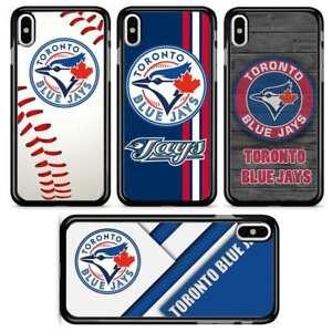 reputable site f55de 2ac31 Detalles acerca de Béisbol de Toronto Blue Jays teléfono caso cubierta para  iPhone 7 8 Plus X Xr XS Max- mostrar título original