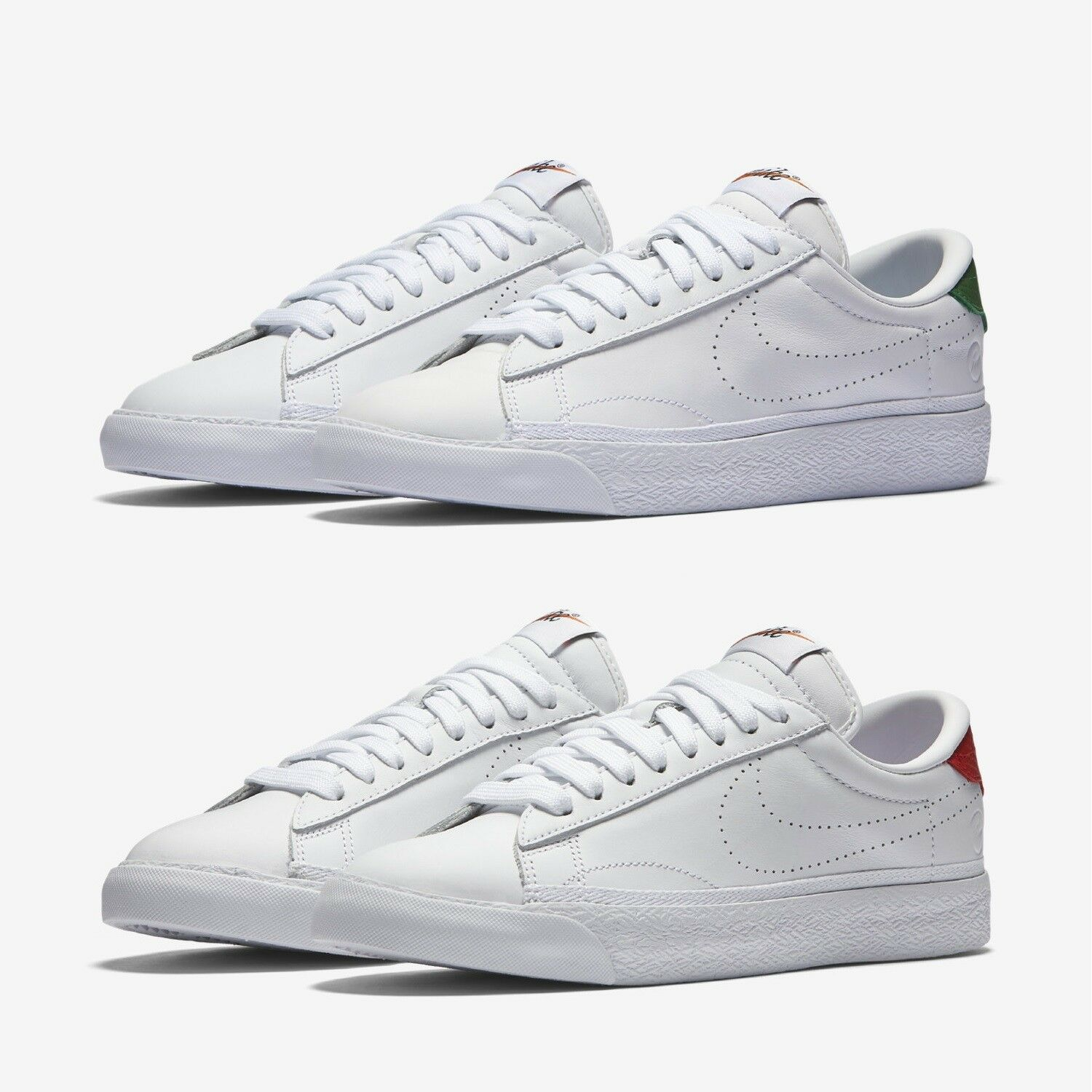 Nike Zoom Tennis Classic AC/FGMT Women's Shoes - NIB 113: White/Apple Green,115: White/Red
