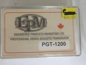 EPM Pro series Acoustic guitar transducer-new'old stock'model PGT-1200