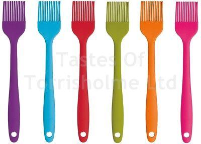 Kitchen Craft Colour Works Mini 20cm Silicone Pastry Basting Brush