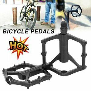 2X-Aluminum-Alloy-MTB-Flat-Platform-Mountain-Bike-Pedals-Bicycle-Pedals-T