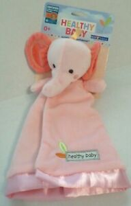 c283cd5cd Image is loading Kids-Preferred-Heathy-Baby-Girls-Velvety-Elephant-Security-