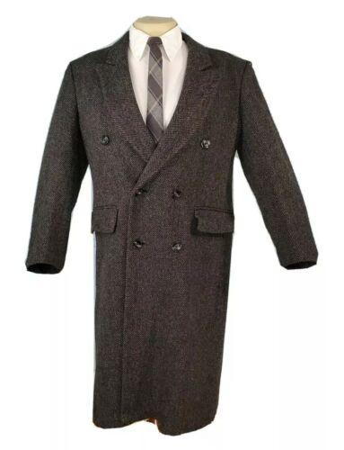 Virany Mens Double Breasted Trench Coat Jacket Woo