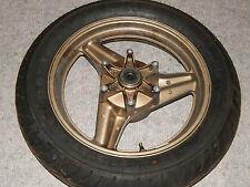 Honda VFR 750 f RC 24 1990 rueda trasera rueda llanta trasera rear rim Wheel j17xmt3.50
