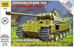Panzerkampfw.V Panther Ausf.D Zvezda 1:72 Kit Z5010