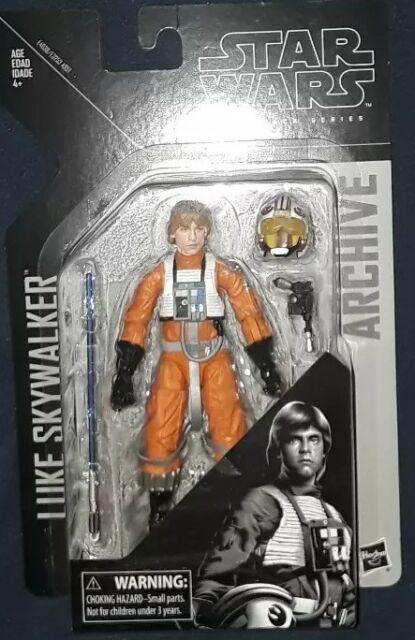 Star Wars Black Series NEW * Luke Skywalker Pilot * Archive Action Figure 6-Inch