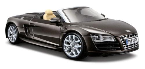 Audi R8 Spyder braun Maßstab 1:24 von maisto