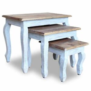 vidaXL-Solid-Reclaimed-Wood-Nesting-Table-Set-3-Piece-Side-End-Coffee-Couch