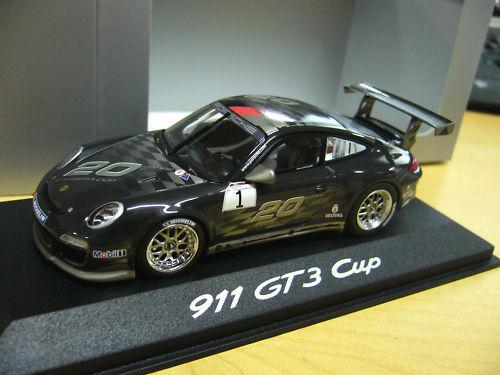 Porsche 911 997 gt3 Cup 2010 20 ans Carrera pma Minichamps 1 43