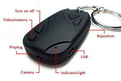 Mini Key Chain DV Spy Camera Hidden DVR Cam Video Recorder Camcorder HD