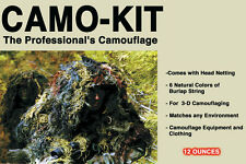 Bushrag Ultra Light Camo Netting Kit Ghillie