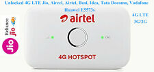 LTE Jio Sim Supported Huawei E5573 Airtel 4G WiFi Hotspot Router Unlocked (USED)