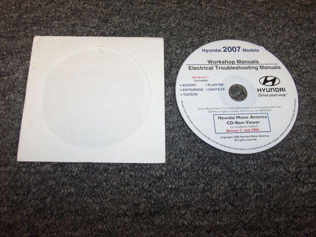 2007 Hyundai Santa Fe Electrical Wiring Diagram  U0026 Shop
