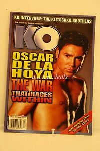 KO-The-Knockout-Boxing-Magazine-OSCAR-De-La-Hoya-March-2003