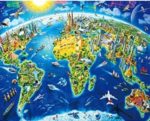 Mini Puzzle  1000 mini pieces Earth Home NEW