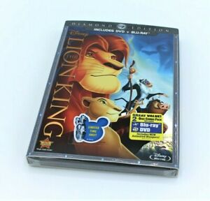 The Lion King Diamond Edition Dvd Blu Ray Code Inside New Sealed Disney Store Ebay