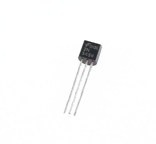 5PCS 2N5458 FSC JFET N-CH 25V 625MW TO92 NEW