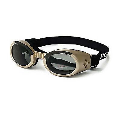 Doggles Originalz Pet Eyewear - Chrome Frame with Smoke Lenses - EXTRA SMALL