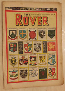 ComicTHE ROVER No1435 27th December 1952  SCHOOL BADGES - London, United Kingdom - Returns accepted Most purchases from business sellers are protected by the Consumer Contract Regulations 2013 which give you the right to cancel the purchase within 14 days after the day you receive the item. Find out more about y - London, United Kingdom