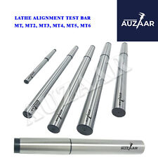 Lathe Mandrel Alignment Precision Test Bar Shanks Sizes Mt1 Mt2 Mt3 4mt 5mt 6mt