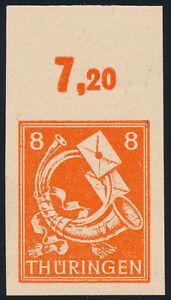 SBZ-MiNr-96-AX-w-U-ungezaehnt-Oberrand-postfrisch-gepr-Schulz-Mi-50