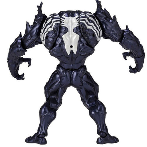 Marvel Spider-Man Venom Edward Brock Revoltech PVC Action Figure Model Toys Gift