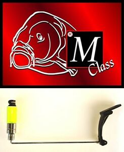 MCLASS-AVVISATORI-VISIVI-Highlite-a-Cancelletto-CARP-FISHING-ROD-POD-VERDE-FLUO