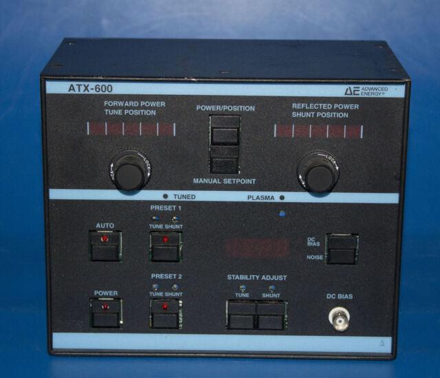 advanced energy atx 600 5021 000 b auto tuner machine network rh ebay com Advanced Energy Hobbs NM Advanced Energy Inc